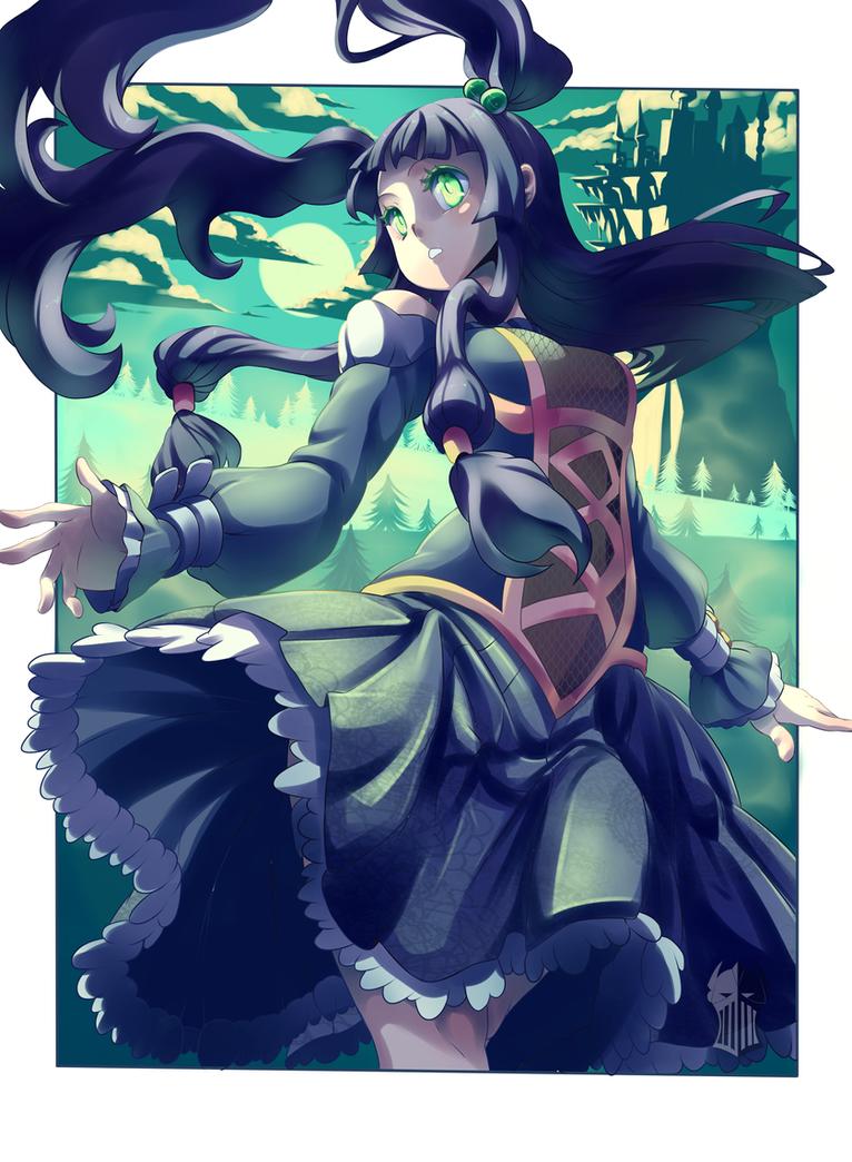 Maiden of Castle Hills by AzureBladeXIII