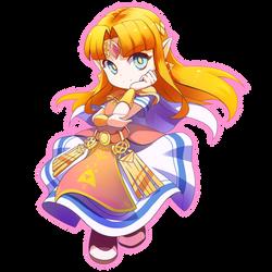 Zelda by AzureBladeXIII