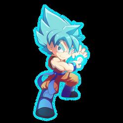 Goku by AzureBladeXIII