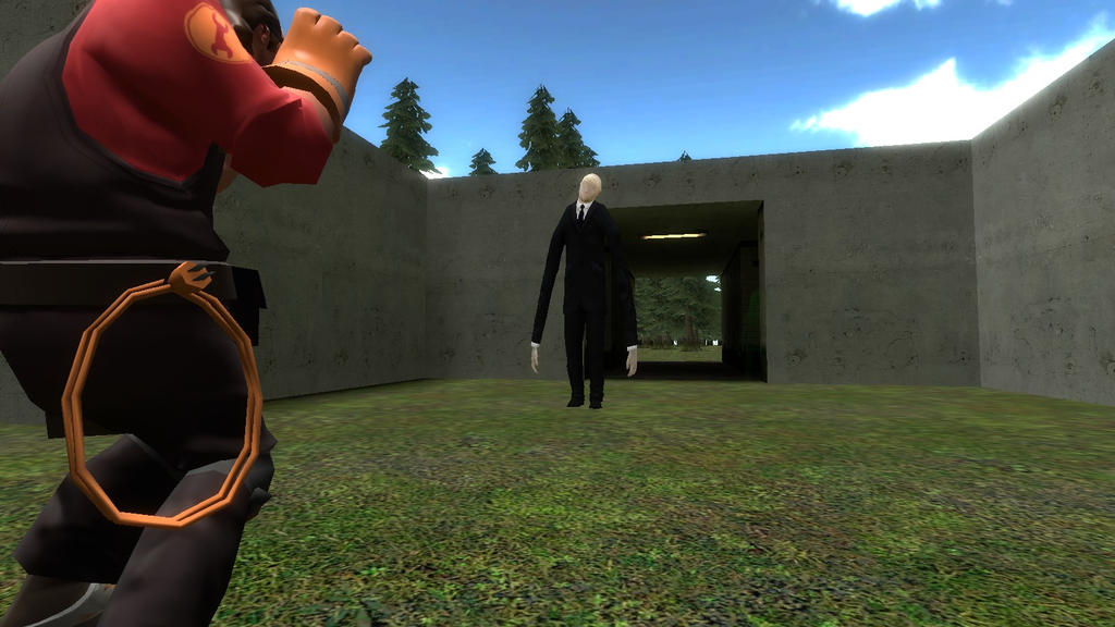 Thomas Nealy's experience with The Slender Man by SCP-096-2