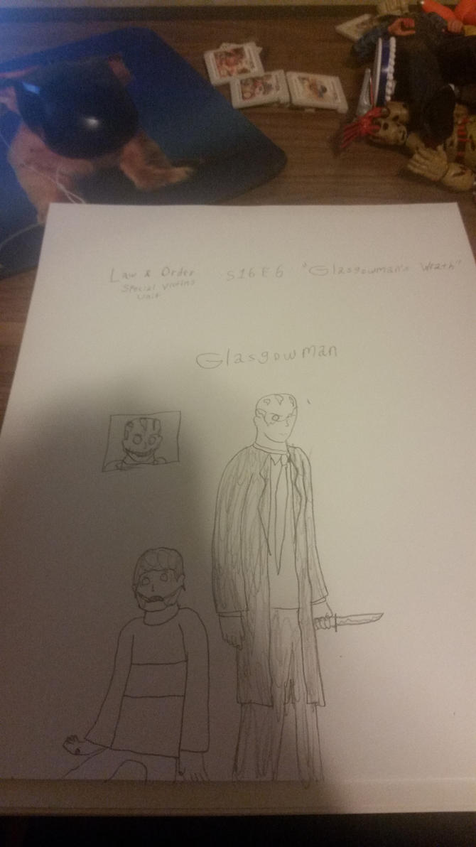 Law and Order Glasgowman by SCP-096-2