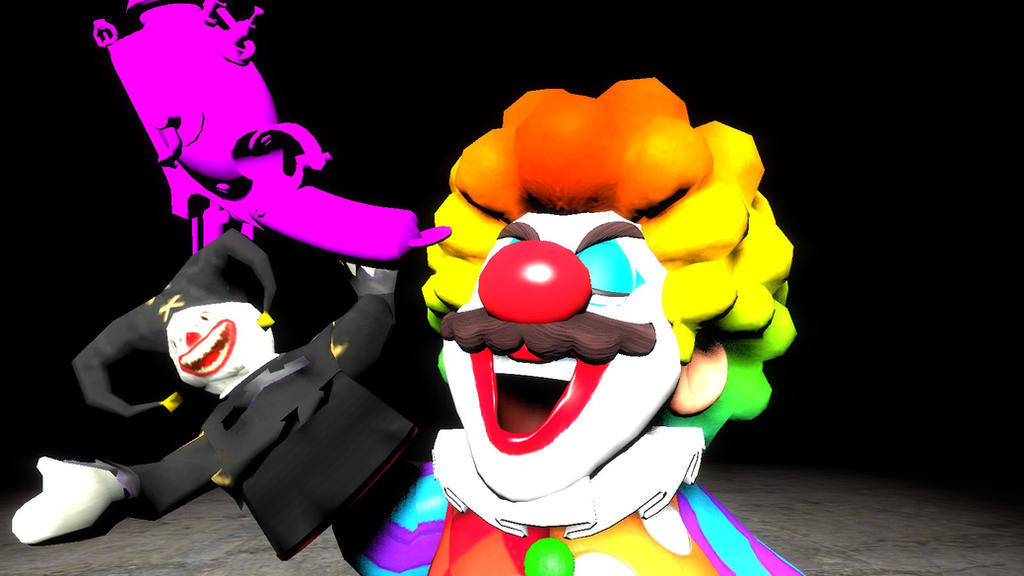 Mario's Homage: Killer Klowns from Outer Space by SCP-096-2