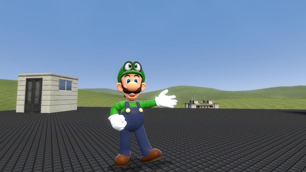 Super Mario Oddysey: Luigi wants to adventure. by SCP-096-2