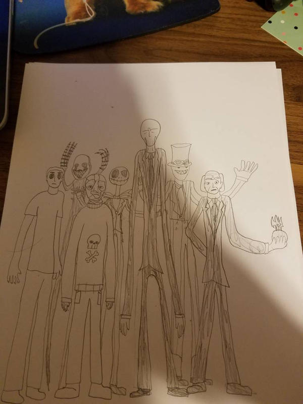 Tall Horrors by SCP-096-2