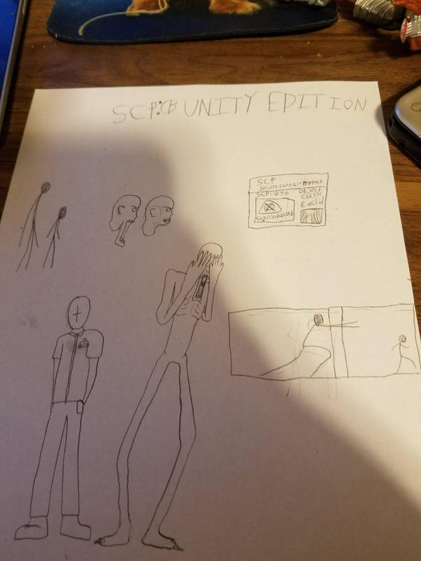 SCP Containment Breach Unity: 096 by SCP-096-2 on DeviantArt
