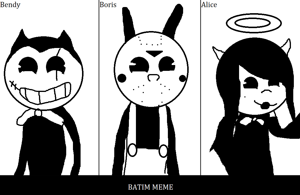 Batim Meme By Austinschaub by SCP-096-2