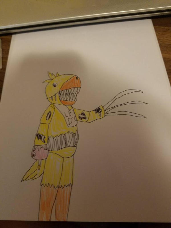 Twisted Chica by SCP-096-2