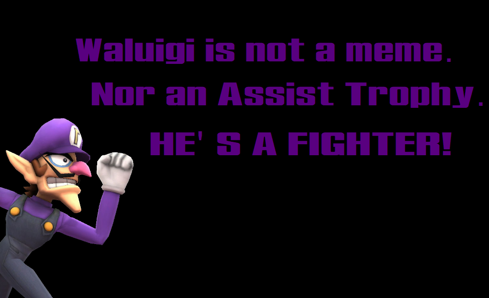 A SSBU Waluigi Quote by SCP-096-2