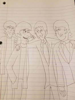 The Beatles by SCP-096-2