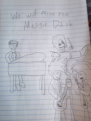 Maggie Dash memorial by SCP-096-2