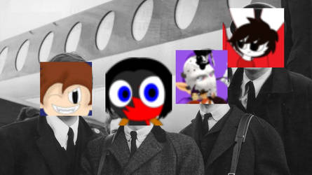 The Beatles portrayed by DA Users by SCP-096-2