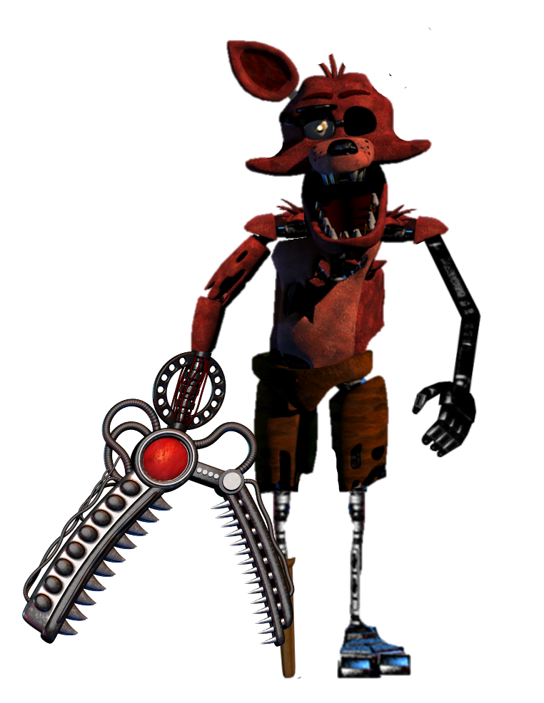 Repowered Foxy by SCP-096-2