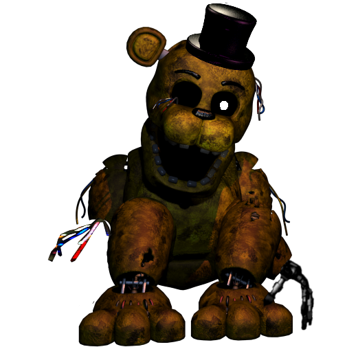 Repowered Fredbear by SCP-096-2