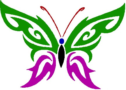 trible butterfly by XOXRevenage