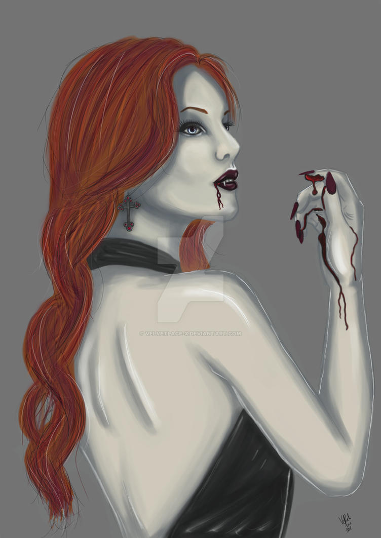 Blood Lust by velvetlace-x