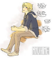 Link - Casual Clothes by Myu-Hime