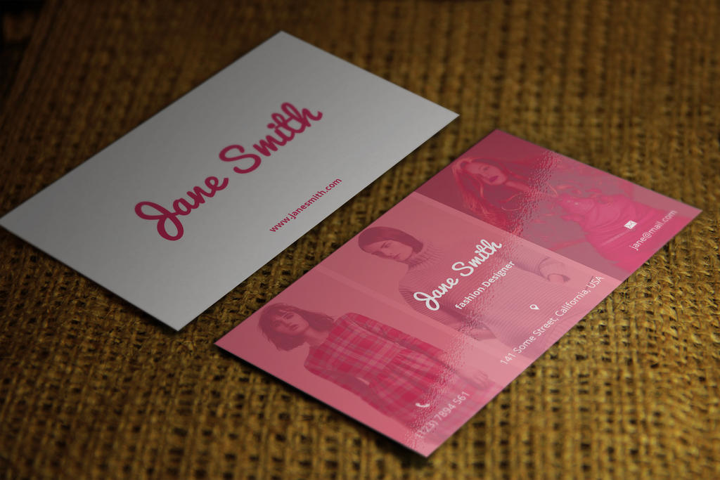 Fashion/Photographer Business Card by psdstorm on DeviantArt
