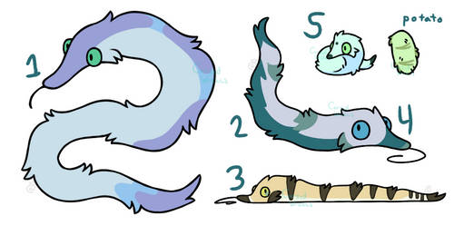 worm on a string adopts