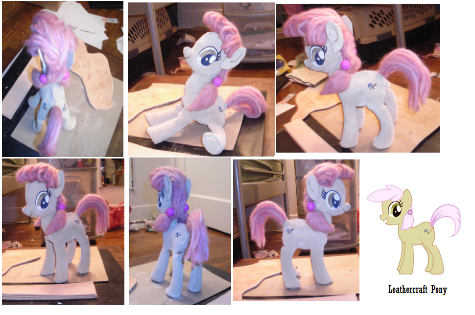 Leathercraft Pony - MLP:FiM by anthropochick