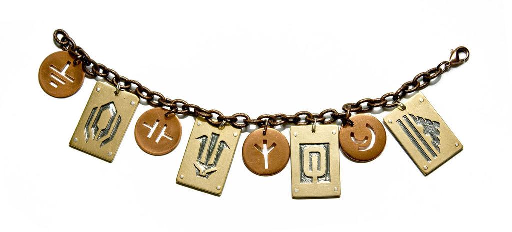 mass effect 2 charm bracelet by anthropochick on deviantart
