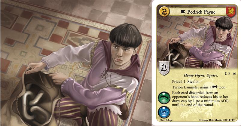 Podrick Payne byJulepe (c) Fantasy Flight Games by julepe ...