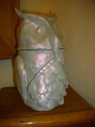 Owl Jar by LeilaBattison