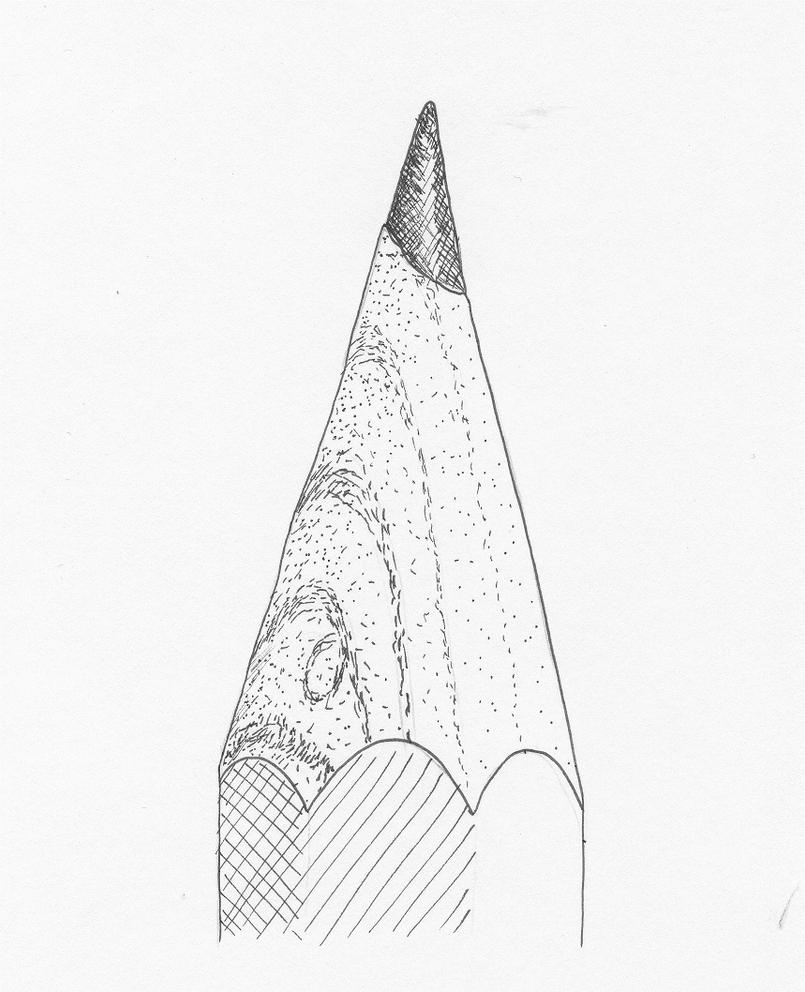 Pencil Tip by LeilaBattison