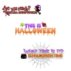 Pngs Halloween by Forever-editt
