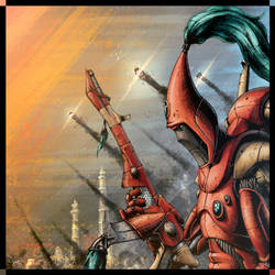 Craftworld Warrior by Poly-G