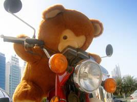 Biker Bert I by w0lfman