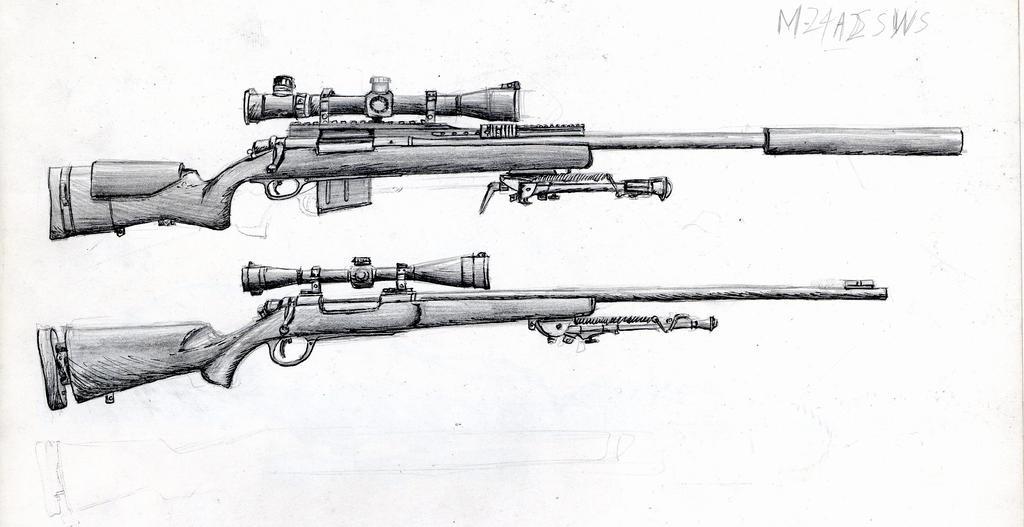 m24a2 sniper rifle - photo #3