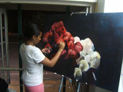 Preparing for final my final yr exhibition in 2009 by KerstenLofters