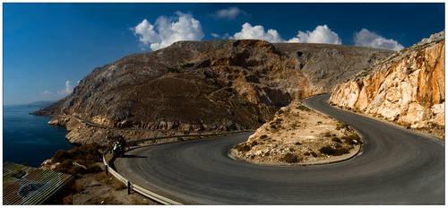 Curly road by sekundek