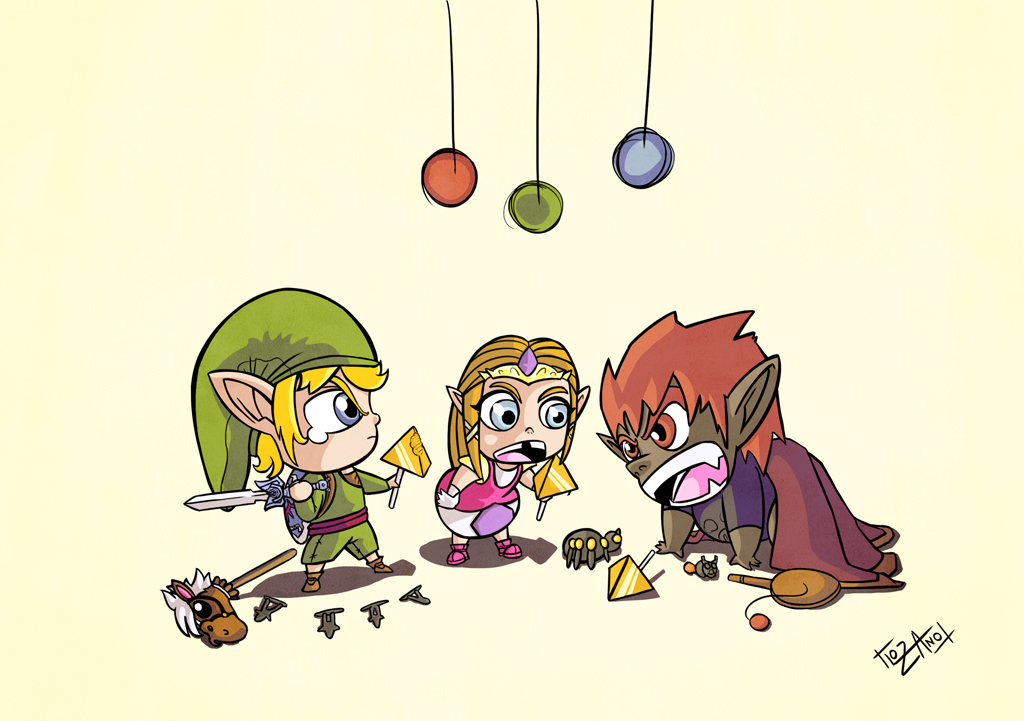The Legend Of Zelda Hyrules Playgroup by lozanoaj