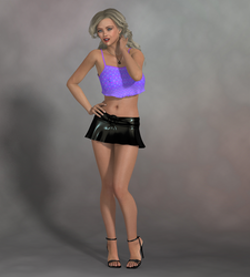 Amber at the club - Character: Sexy Girl