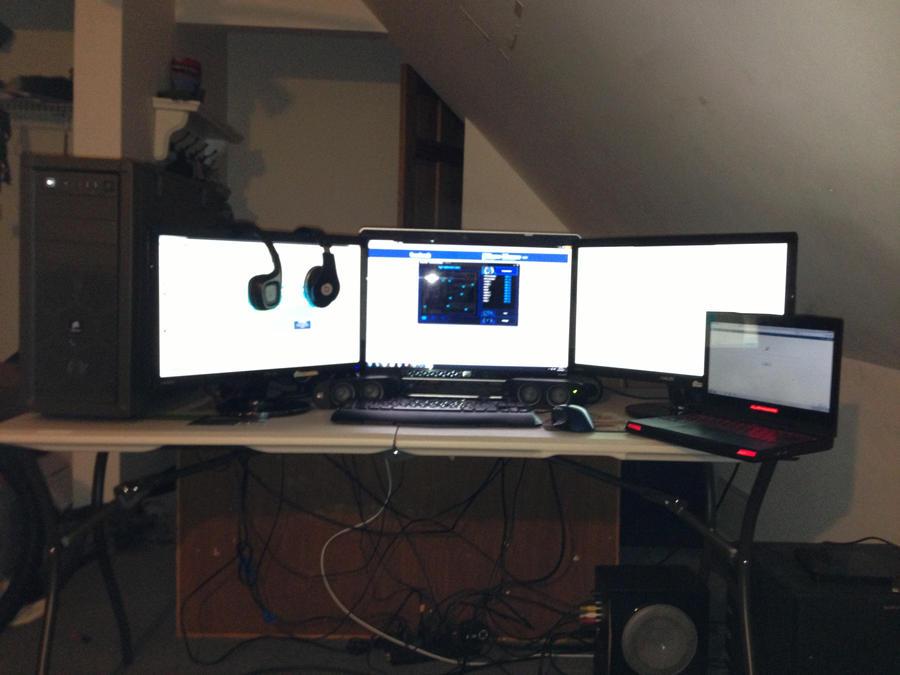 how to turn multi screen on mac