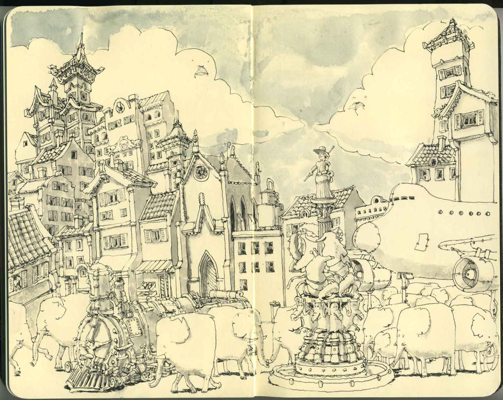 An allegory by MattiasA