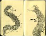 Moleskine dragons