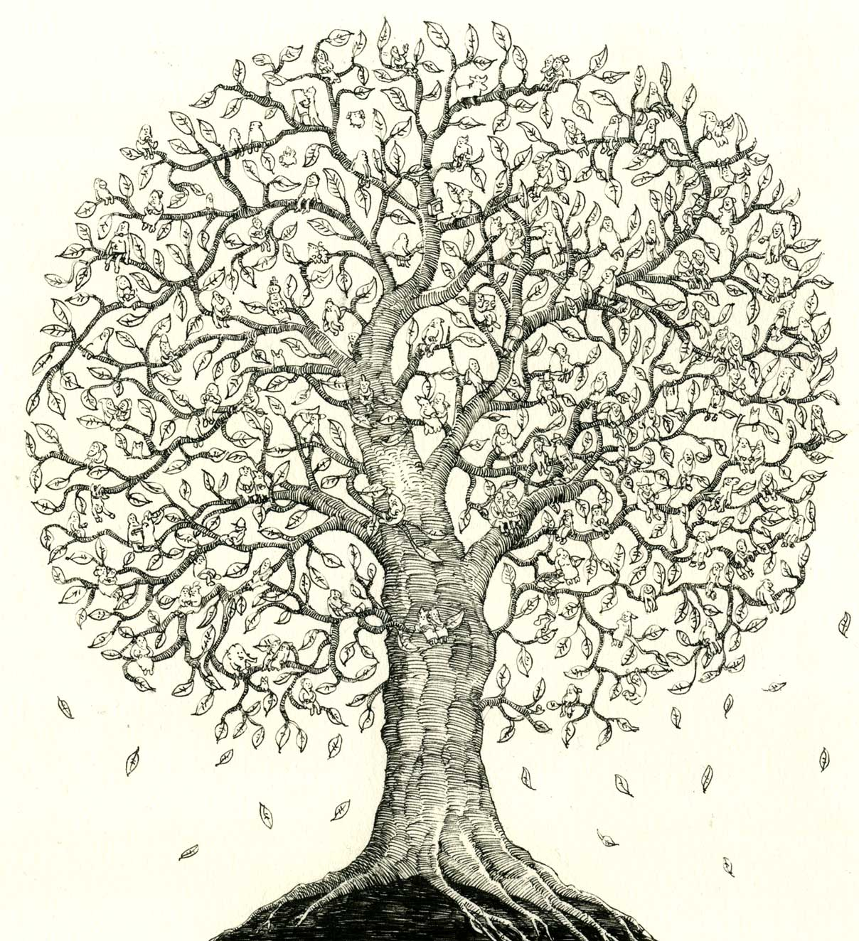 Cool Family Tree Drawings Family tree - pencil@Share on family ...