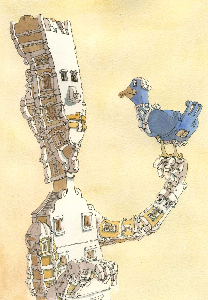 Bird of paradise by MattiasA