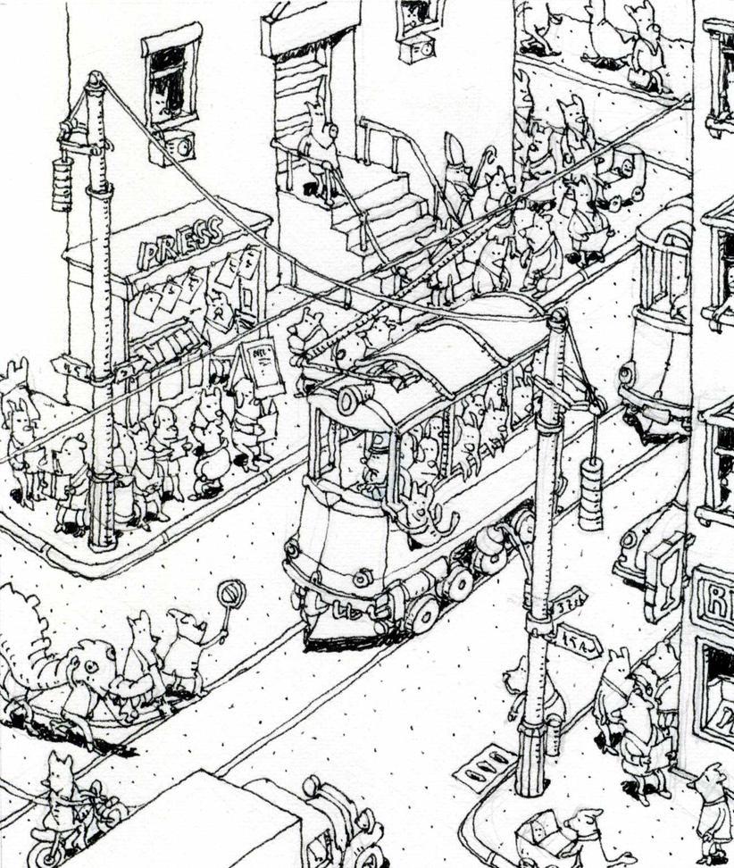 Chinese new year traffic jam by MattiasA on DeviantArt