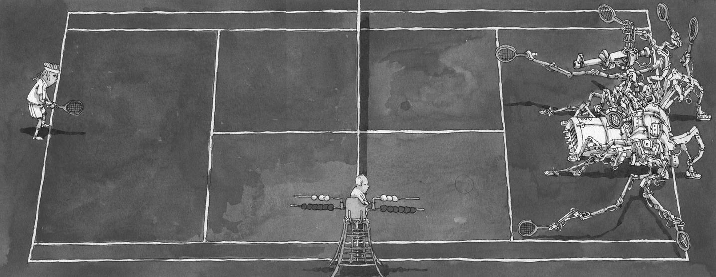 anyone for tennis by MattiasA