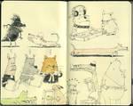 Symposium sketches