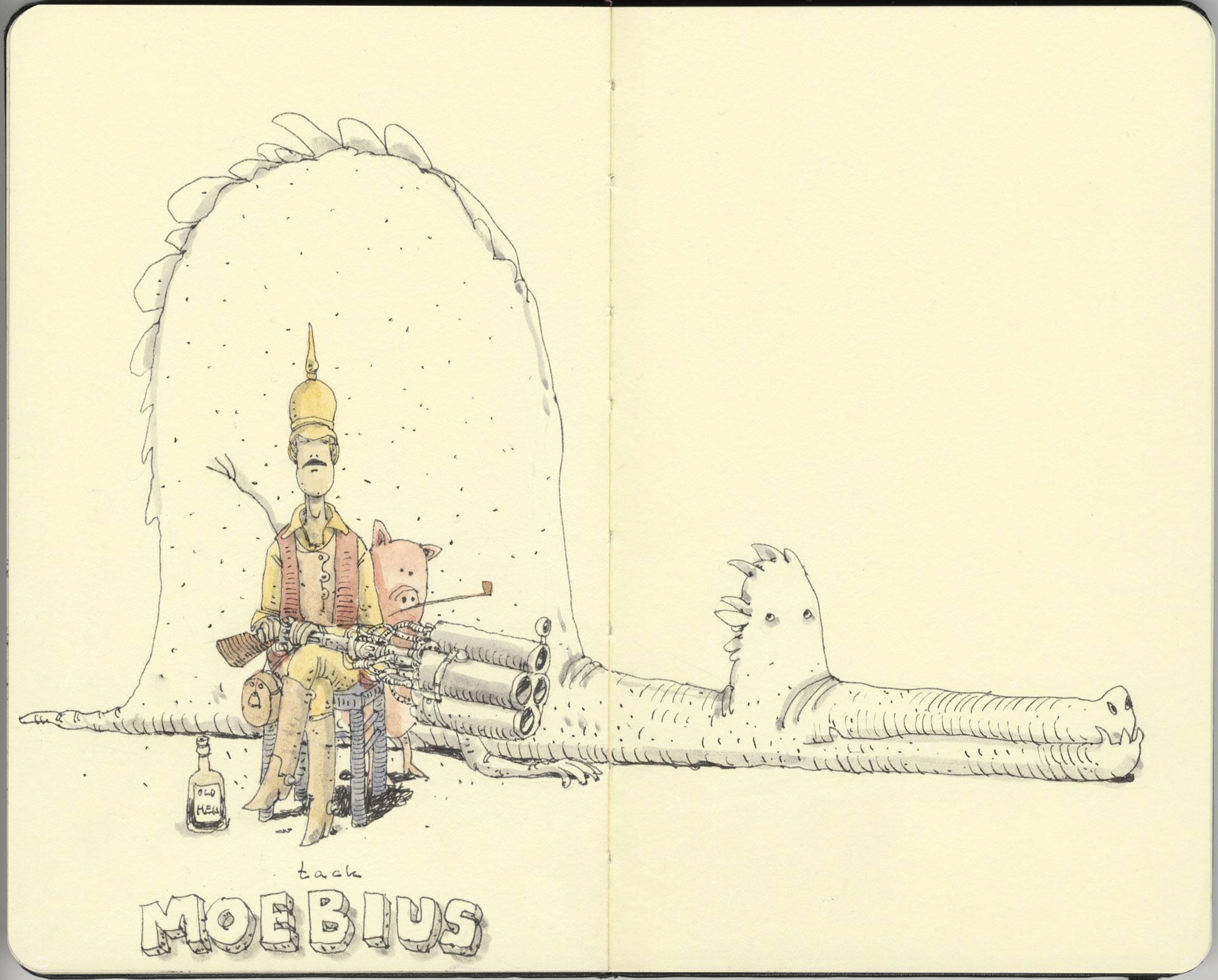 Tribute to Moebius