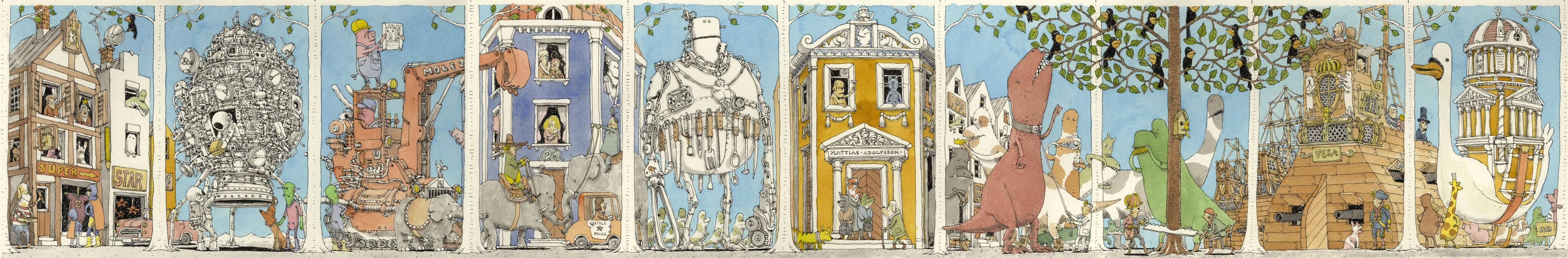 Postcard book by MattiasA