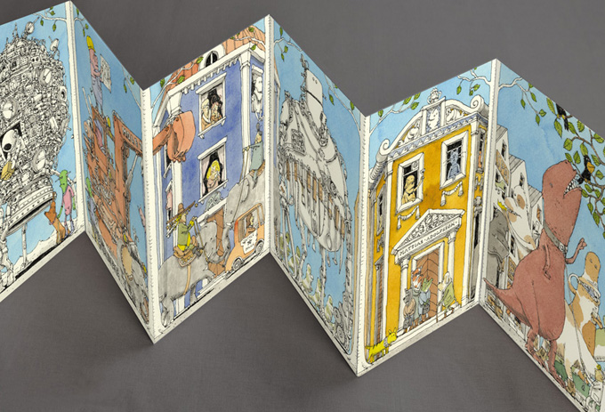 Offline, the accordion style companion by MattiasA