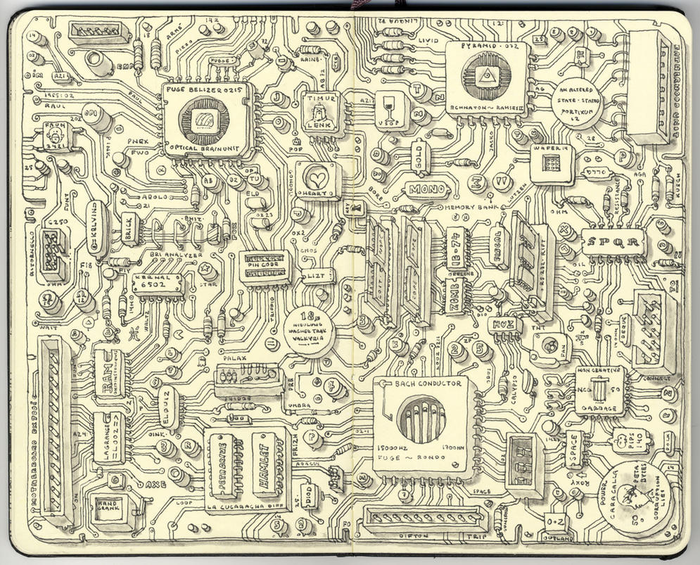 Analog motherboard by MattiasA