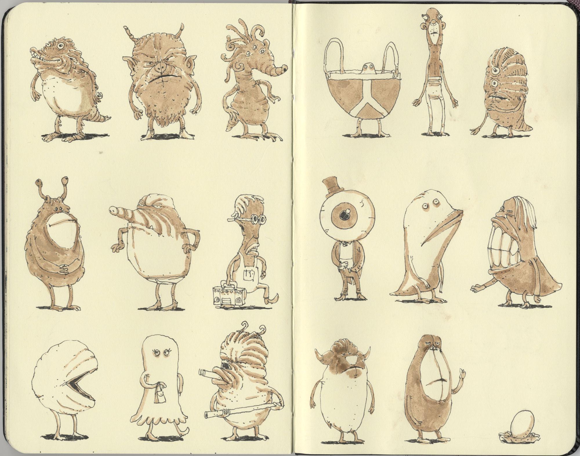 Seventeen characters by MattiasA