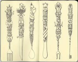Six easy pieces by MattiasA