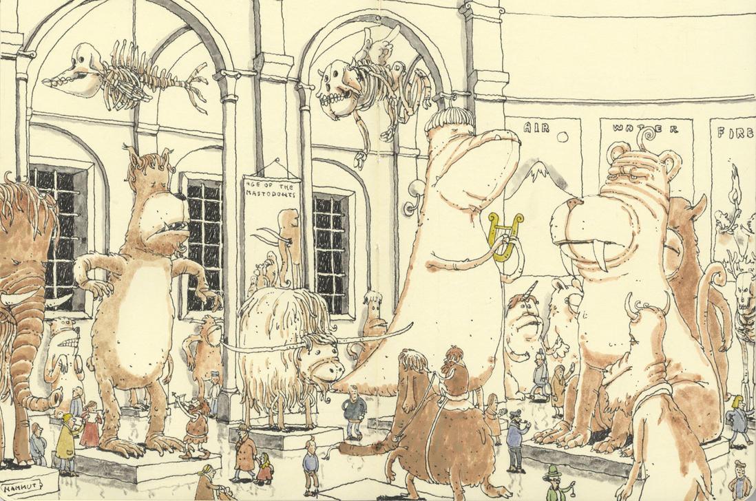 Age of the mastodons by MattiasA